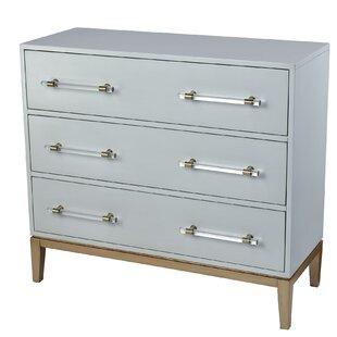 Gaskins 3 Drawer Accent Chest