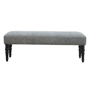 Red Barrel Studio Verdon Long Upholstered Bedroom Bench (Set of 2)