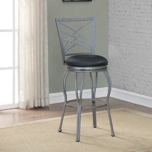 Katz 30 Swivel Bar Stool Brayden Studio