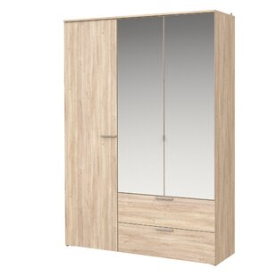 Wedgeworth 3 Door Wardrobe By Brayden Studio