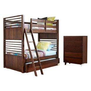 Schuster Complete Bunk Bed Configurable Bedroom Set by Brayden Studio