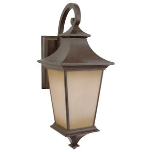 Reviews Glenmont 1-Light Outdoor Wall Lantern By Darby Home Co