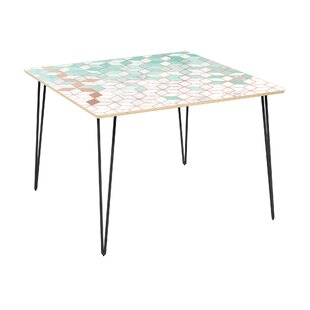 Olstykke-Stenlose Dining Table Bungalow Rose