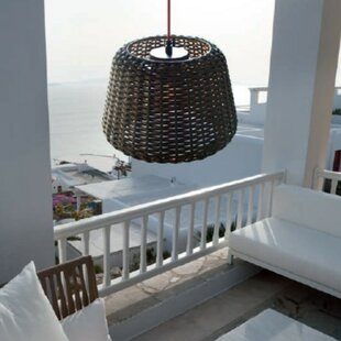 Great Price Ralph 1-Light Outdoor Pendant By ZANEEN design