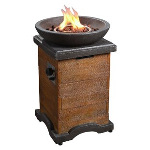 Peaktop Outdoor Wood Trim Propane Gas Fir..