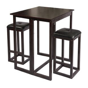 The Bay Shore 3 Piece Dining Set by Wildon Home�