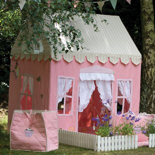 Win Green Gingerbread Cottage Playhouse
