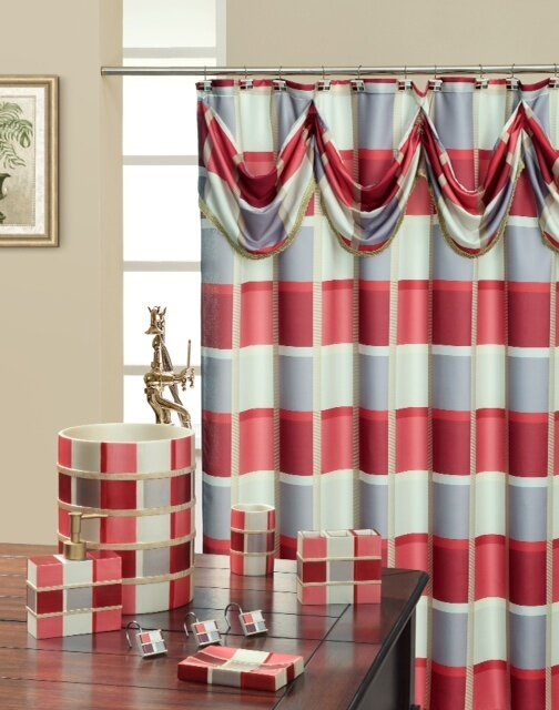 Daniels Bath Madison Decorative Single Shower Curtain Reviews