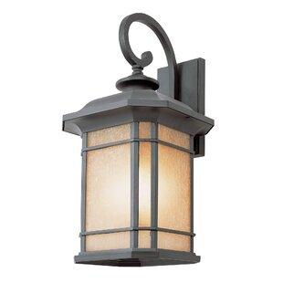 Newbury 3-Light Outdoor Wall Lantern by Loon Peak