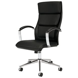 Executive Genuine Leather Conference Chair