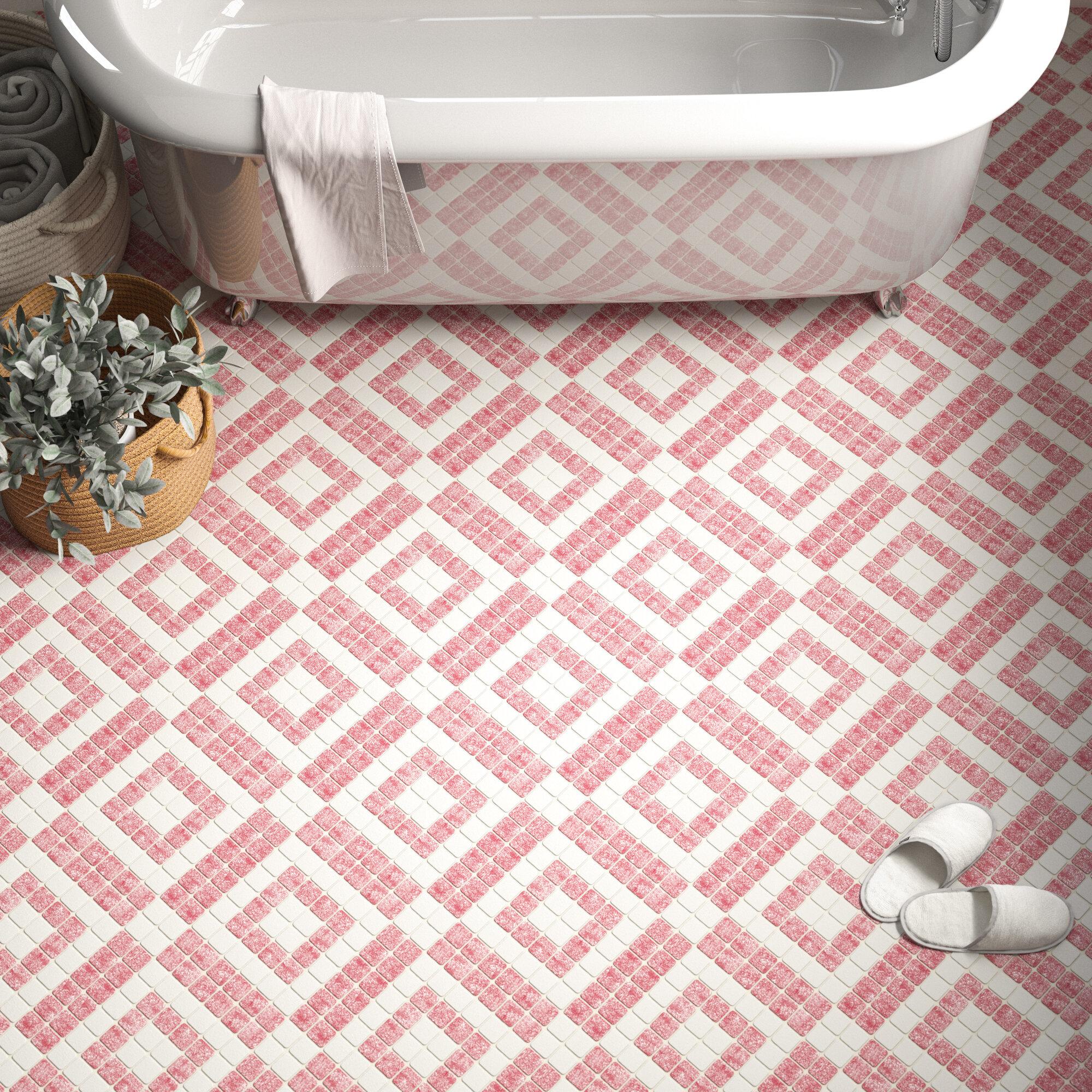 Pink Floor Tiles Wall Tiles You Ll Love In 2021 Wayfair