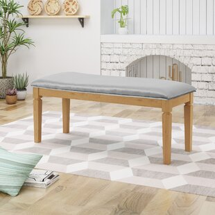 Vanhorn Wood Bench by Ophelia & Co.