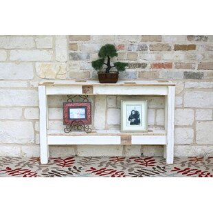 Mentzer Console Table with Raise Bottom Shelf by Gracie Oaks