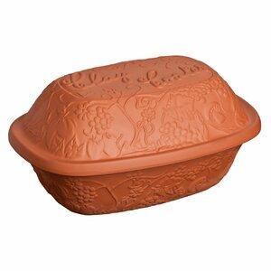 Ovenlove 3L Terracotta Rectangular Casserole