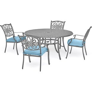 Charlton Home Woodacre 5 Piece Dining Set