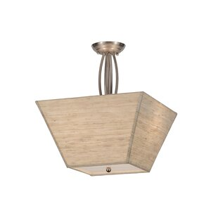 Meyda Tiffany Cesta 2-Light Semi Flush Mount