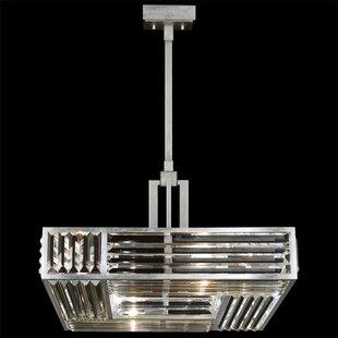 Fine Art Lamps Crystal Enchantment 4-Light Crystal Chandelier