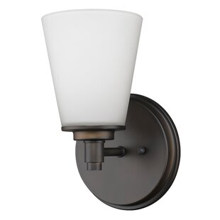 Vanmeter 1-Light Bath Sconce by Winston Porter