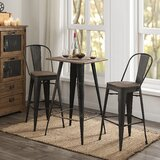 Westhampton 30.12 Bar Stool (Set of 2) by 17 Stories