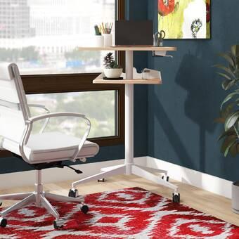 Symple Stuff Hogle Height Adjustable Standing Desk Wayfair