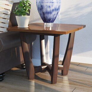 Scaggs End Table by World Menagerie