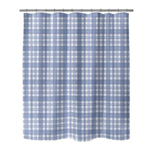 Blue Plaid Shower Curtains Youll Love