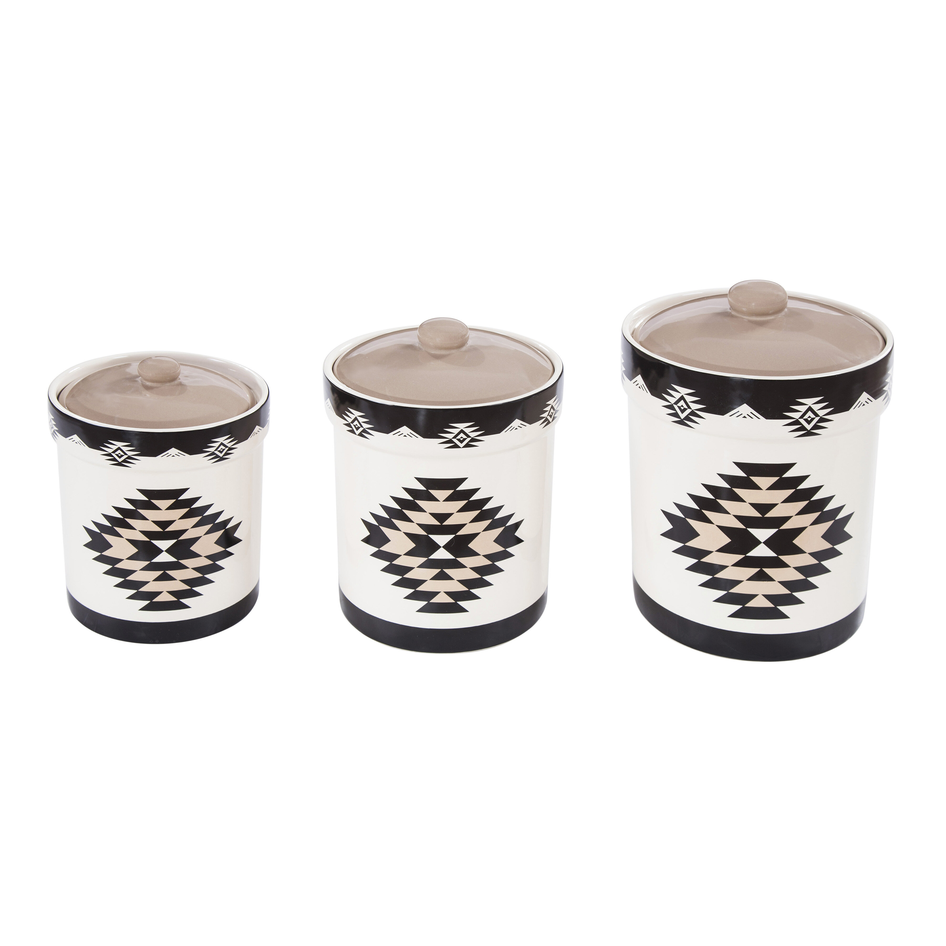 Foundry Select Chalet 3 Piece Kitchen Canister Set Wayfair