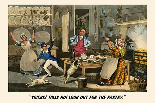 Buyenlarge Yoiks Talley Ho Look Out For The Pastry By Henry Alken Graphic Art Print Wayfair