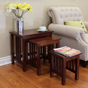 Bargain Hollydale 3 Piece Nesting Tables By DonnieAnn Company