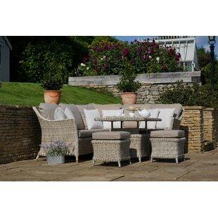 Ridgemoor 7 Seater Rattan Corner Sofa Set By Sol 72 Outdoor