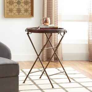 Three Posts Chalfont Burnished End Table