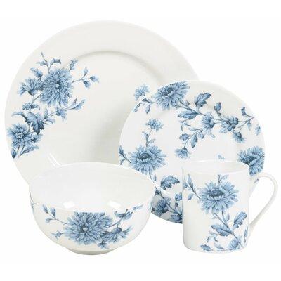 Denim 16 Piece Dinnerware Set  sc 1 st  Birch Lane & Birch Lane™ Prescott 16-Piece Dinnerware Set Service for 4 ...