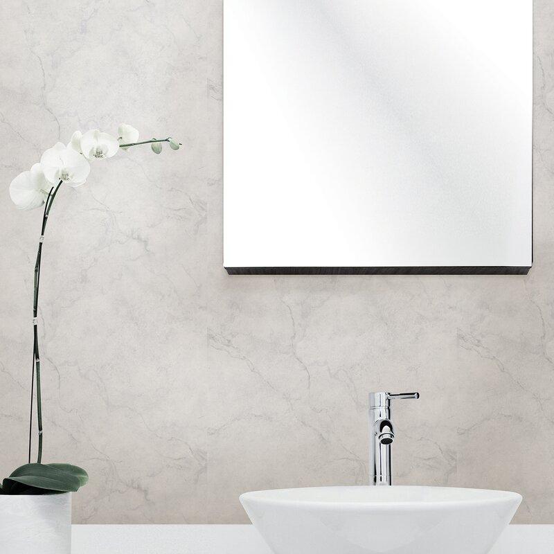 Wallpops Nuwallpaper 18 X 205 Carrara Marble Peel And Stick
