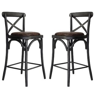 Annette Metal 26.89 Bar Stool (Set of 2) by Rosalind Wheeler