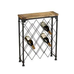 Hudson 9 Bottle Floor Wine Rack by Cyan Design