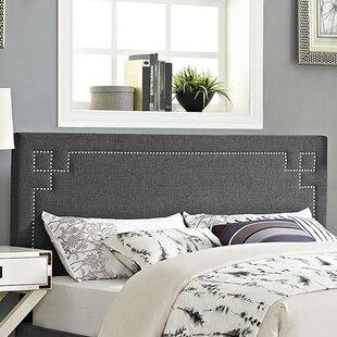 Kerley Upholstered Panel Headboard byEverly Quinn