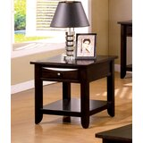 Geomar End Table with Storage by Latitude Run
