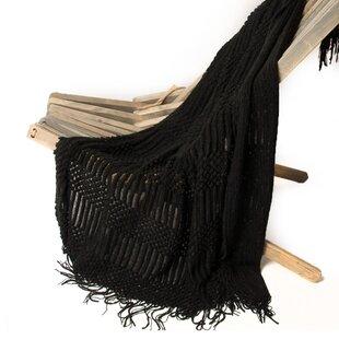 Bernstein Light Weight Knit Patterned Throw
