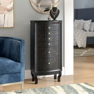 Bethena Jewelry Armoire with Mirror ByWilla Arlo Interiors
