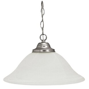 Winston Porter Lubin 1-Light Cone Pendant