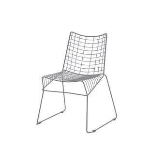 Wrought Studio Gower Style Stacking Patio Dining Chair