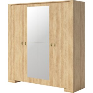 Terrell 4 Doors Armoire by Union Rustic