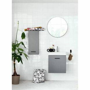 Review Delanie 60cm X 60cm Surface Mount Mirror Cabinet