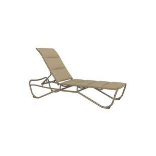 Millennia Padded Sling Chaise Lounge