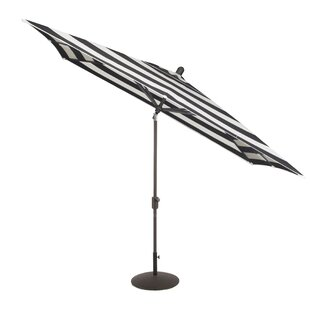 Wieczorek Auto Tilt 10' X 6.5' Square Market Umbrella By Breakwater Bay