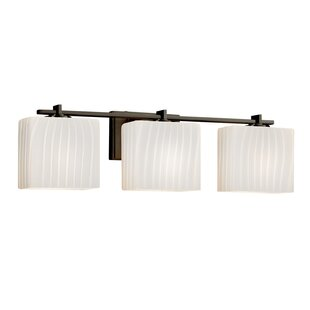 Price comparison Luzerne 3-Light Vanity Light By Brayden Studio