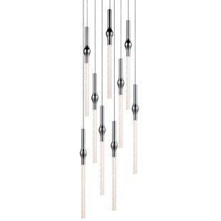 Rain 9-Light Pendant by Sonneman