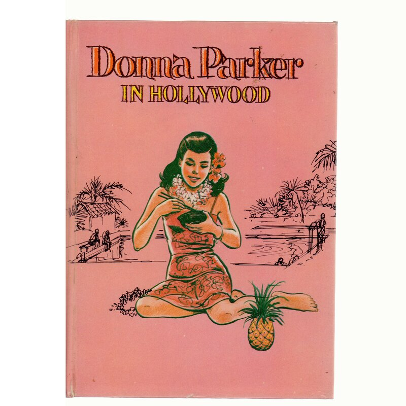 Booth Williams Authentic Donna Parker In Hollywood By Marcia Martin Decorative Book Perigold