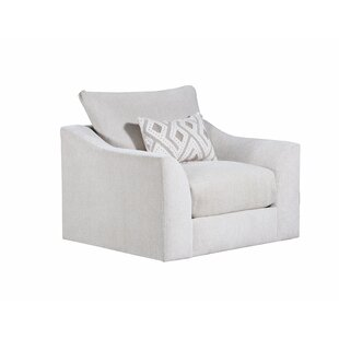 Ipswich Swivel Armchair by Everly Quinn