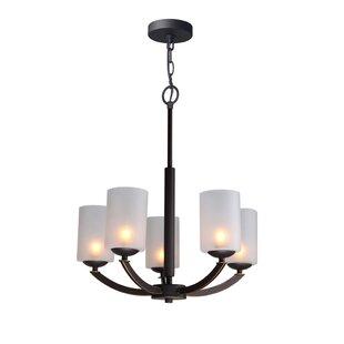 Ebern Designs Heavner 5-Light Candle Styl..